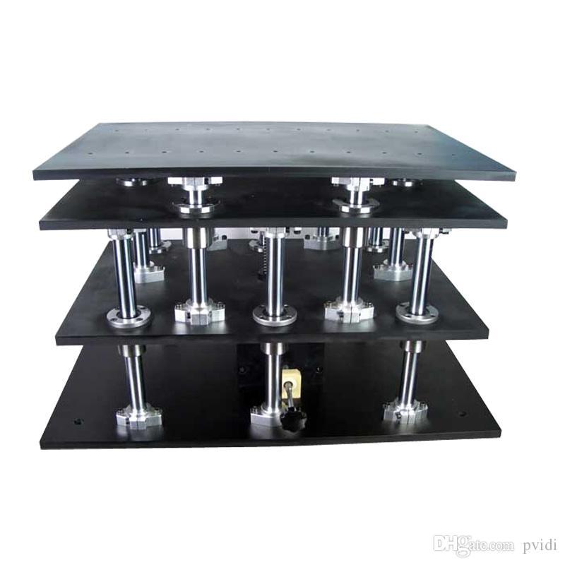 PT-SD411 정밀 수동 리프트, Z 축 수동 랩 잭, 엘리베이터, 광학 슬라이딩 리프트, 100mm 이동