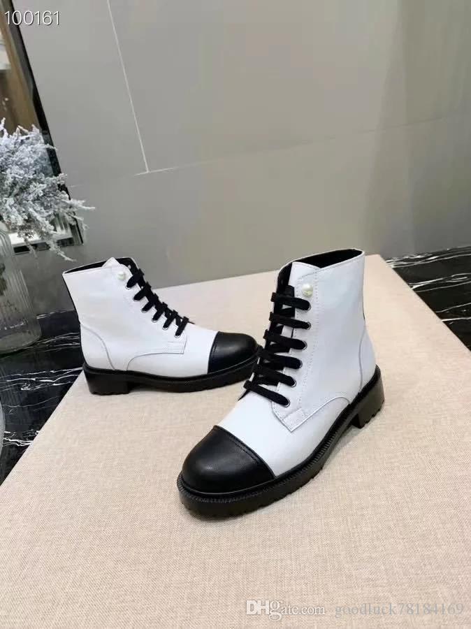 новый Luxury22ss сапоги женщины Марка половина ботильоны Леди Designerss натуральная кожа платье сапоги Повседневная обувь с коробкой