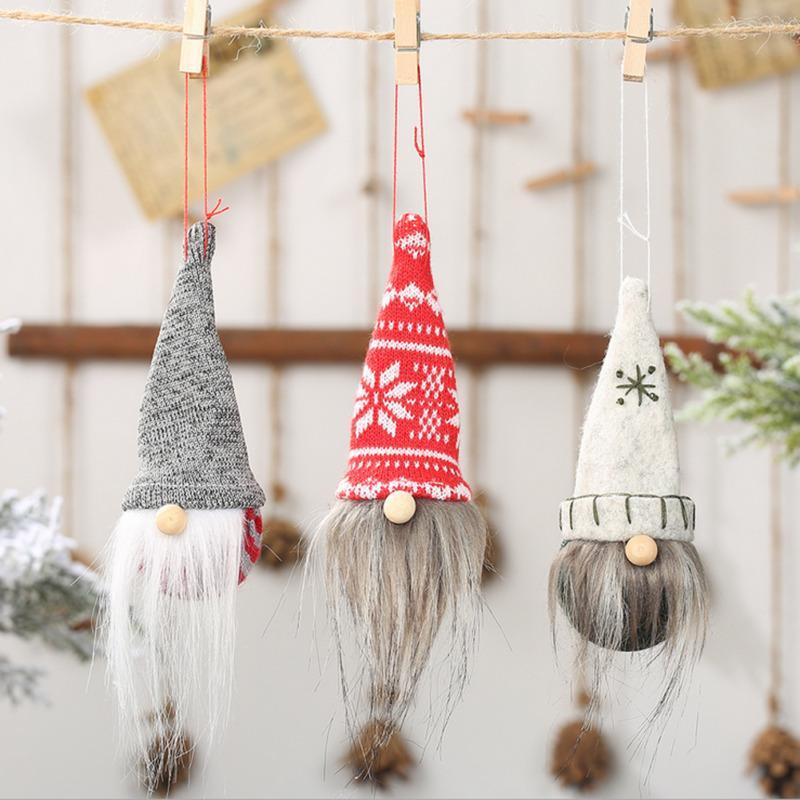 Kolye Festivali Süsleme Noel Ağacı Dekorasyon Asma Noel Angel Doll Oyuncak