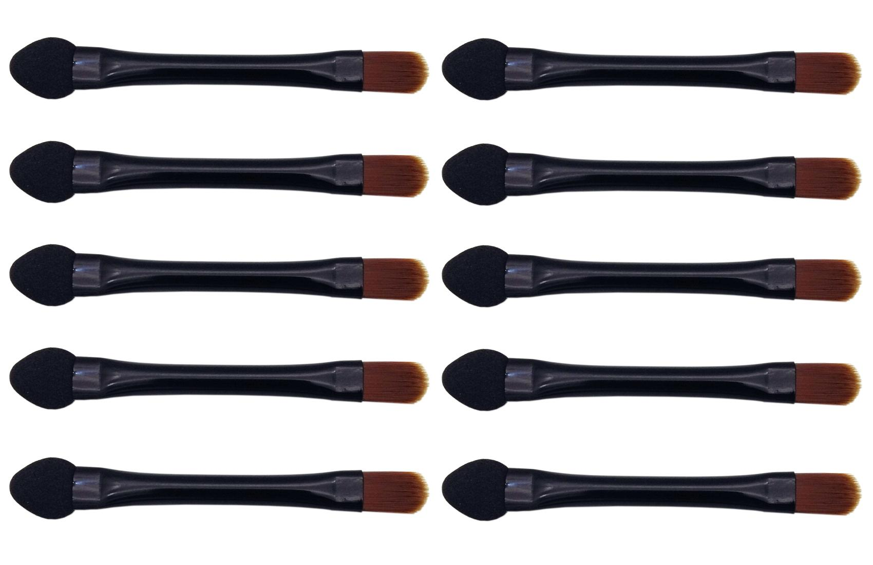 Vôsaidi Eyeshadow Brushes Makeup Brush 10pcs Eye shadow Sponge Dual Sides Eyeshadow Applicator Travel Eyeshadow Brush Concealer Brush