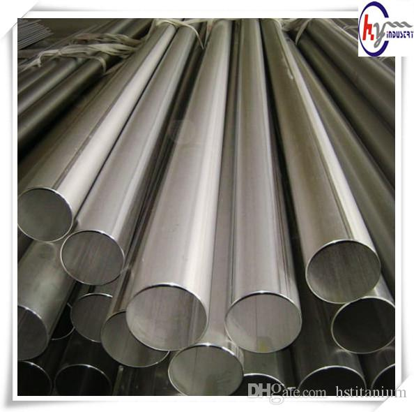 ASTM B862 3 inch titanium welded exhaust pipe price seamless pipes Titanium alloy UNS R56400 6Al-4V titanium pipe/tube