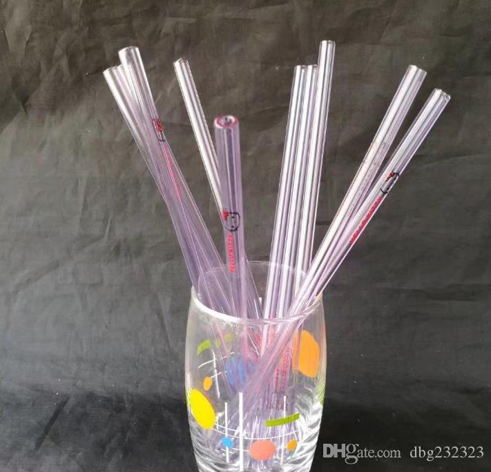 Multicolor Catty Cat fresa de cristal Bongs de vidrio Accesorios, pipas de fumar de colores las mini multi-colores de mano Tubos Mejor Cuchara de tuberías de vidrio