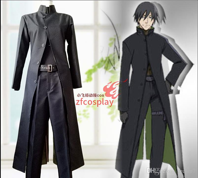 Anime Darker Than Black Hei Cosplay Costume Uniform Outfit Halloween Custom Made