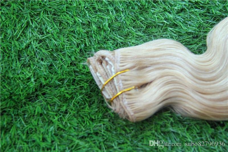 النقي لون الجسم موجة 32 34 36 38 بوصة البرازيلي نسج الشعر حزم 100٪ ريمي الشعر الإنسان حزمة مزدوجة اللحمة حزمة ريمي الشعر