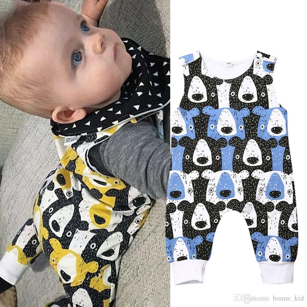 Newborn Kids Baby Boys Girls Infant Romper Jumpsuit Bodysuit Sunsuit Outfits Set
