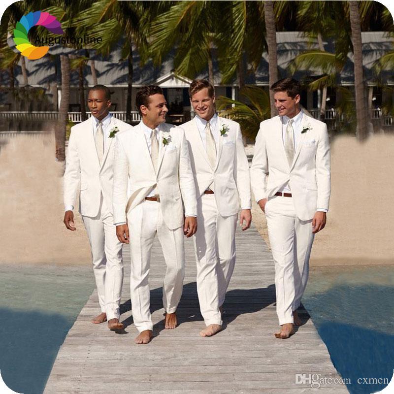 2018 Khaki notched lapel Tuxedo Slim Fit Formal Groom Men Suit for Wedding Best Men Suit Smart Casual