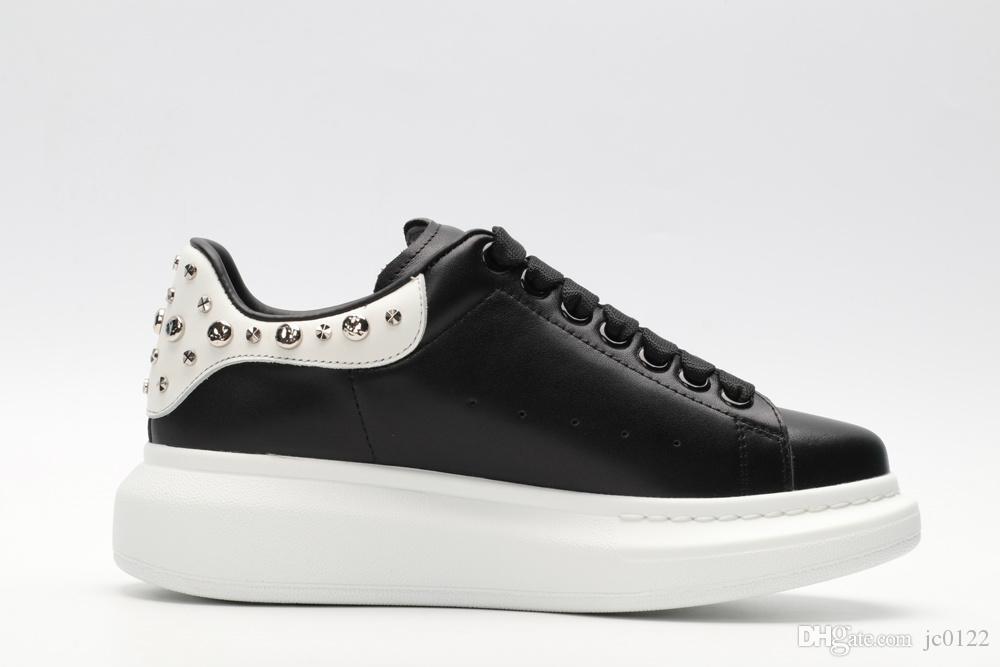 Preto Branco Plataforma Clássico Sapatos Casuais Sapatos de Skate Esportes Casuais Mens Das Mulheres Sapatilhas De Veludo Heelback Vestido Sapato Esportes Tênis A1