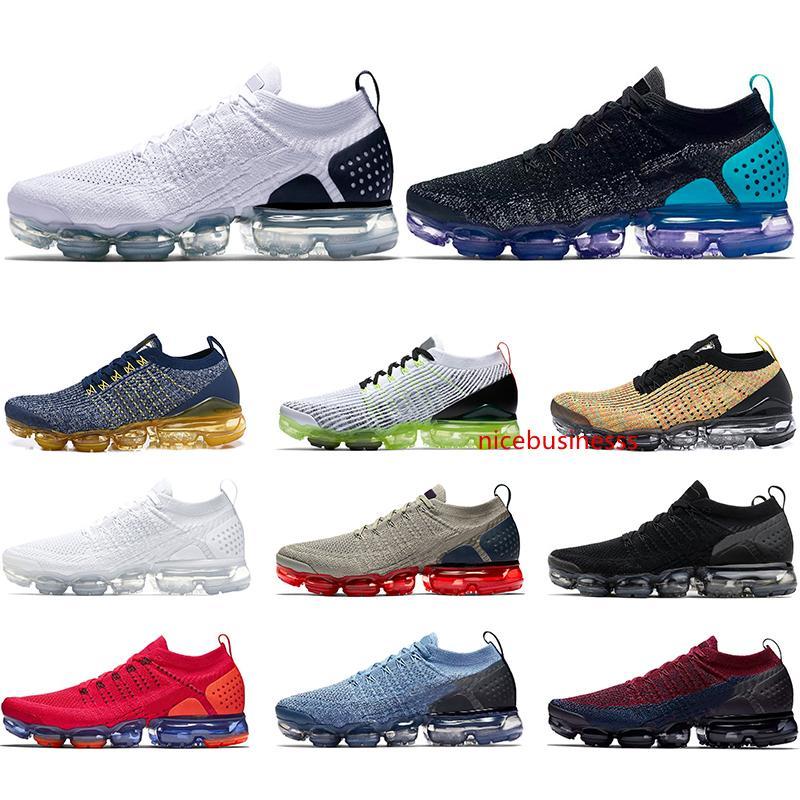 Gli uomini delle donne di modo Running Shoes 2.0 3.0 Triple Black White Palestra Blue Spirit Oreo Mens Sneakers Sport Drop Shipping