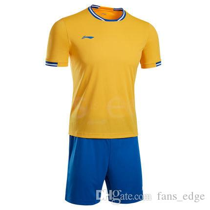 Top del fútbol jerseys baratos libres del envío al por mayor de descuento cualquier nombre cualquier número Personalizar tamaño de los jerseys de fútbol S - XXL 40