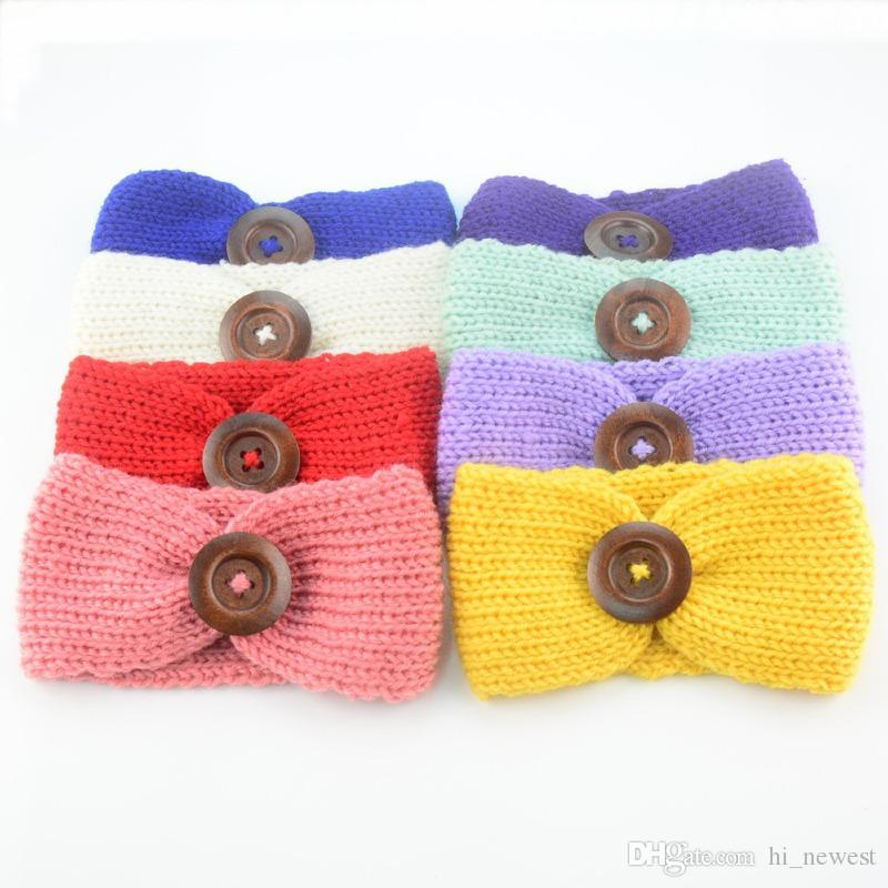 Baby Girls Fashion Wool Crochet Headband