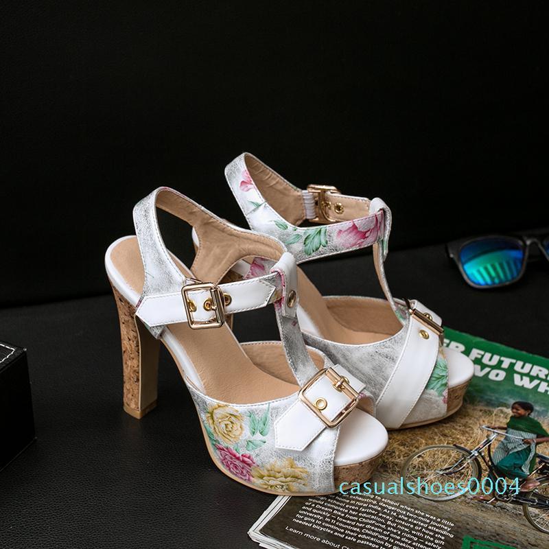 Классические сандалии Lady Summer 2020 дизайнерская обувь Peep Toe сандалии металлическая пряжка кожа сексуальная женская обувь на высоком каблуке 11,5 см большой размер AC04