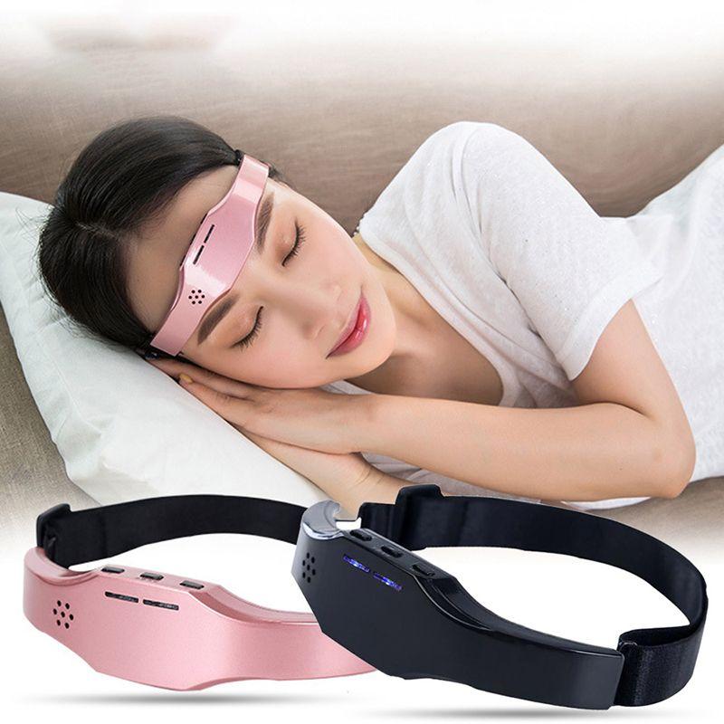 رئيس مدلك ذكي النوم الكهربائية الإغاثة الصداع النصفي التحسين البدني القلق هادئة رئيس مدلك لا آثار جانبية