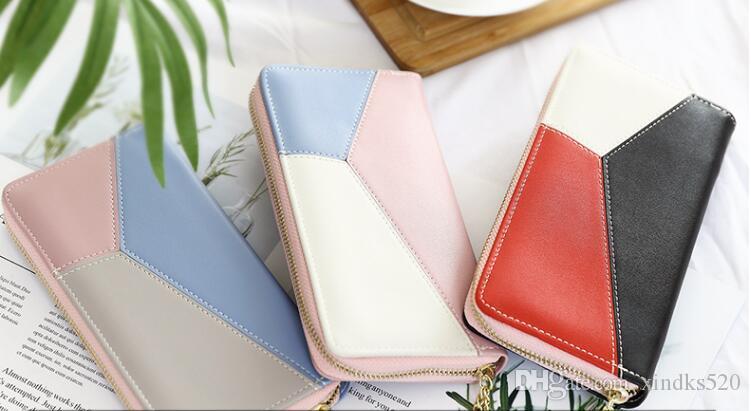2019; Portafoglio della nuova signora e borsa lunga da donna multifunzionale che unisce il portafoglio lungo e la borsa grande capacità