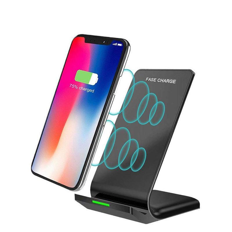 10W Qi Wireless Charging supporto supporto per caricabatterie rapido IPhone XS 11Pro Max 8 Inoltre S10Plus note10 Inoltre S7 S6 bordo Nota Phone 8 cellule del supporto