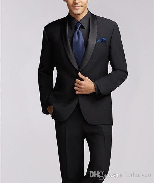2019 Latest Coat Pant Designs Men Suit Jacket Prom Tuxedo Slim Fit 2 Piece Groom Style Suits Custom Blazer Masuclino
