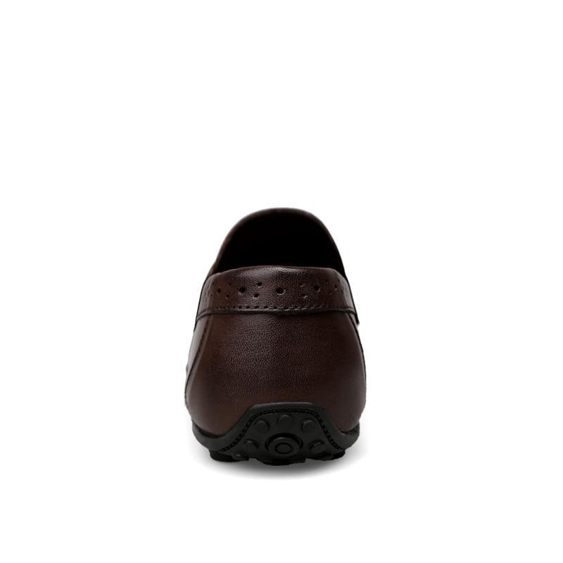 الرجال المتسكعون أحذية جلد طبيعي عارضة أحذية رياضية الذكور الأزياء منحوتة قارب الأحذية لينة اللباس حزب أحذية الرجال chaussure أوم
