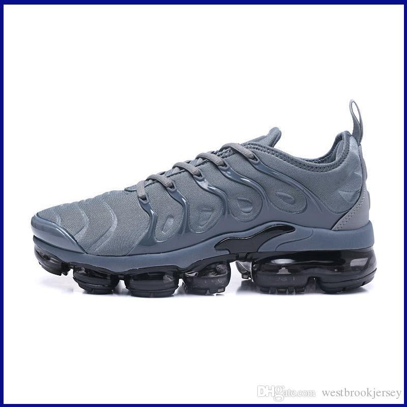 Marca TN Plus diseñador para hombre de las zapatillas de deporte al aire libre Tns zapato zapatos gimnasia de gris negro blanco deporte Entrenadores Chaussures en venta