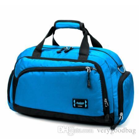 Gym Сумки Мужчины Спорт Фитнес пакет Cylinder одно плечо спортивные сумки Женские сумки дорожные сумки нейлон водонепроницаемый сумка пакет
