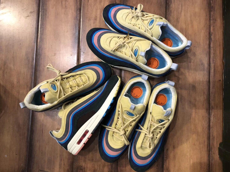 2020 Nova Sean Wotherspoon 1/97 dos homens e das mulheres tênis e sapatos casuais Almofada de prata ouro tênis sapatos designers de esportes, A1