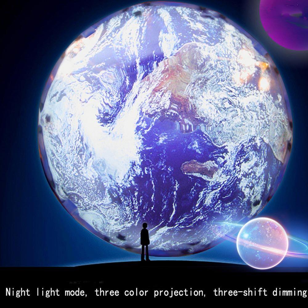 Stars Night Lights Children, Cosmic Night Lights Projection Lamps, Romantic Stars Sea Birthday Christmas Projector Light Bulbs for Bedrooms