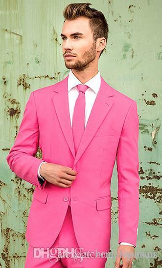 Por encargo de los padrinos de boda muesca solapa esmoquin novio recogida hombres Trajes de boda / Prom mejor hombre Blazer / Novio (chaqueta + pantalones + lazo) M548