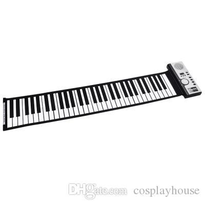 Cuerda De 18 Silicona Del Niños Teclas Digital Maravilloso Compre Piano Nuevo Cosplayhouse 61 Para Teclado A35 El Midi Flexible Suena Con T13lFJucK