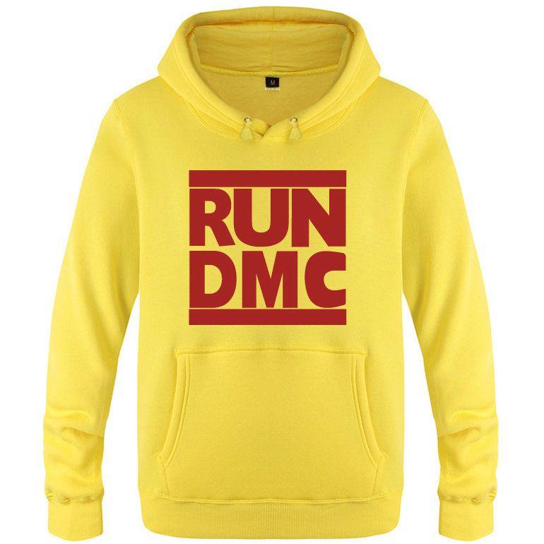 Run DMC felpe abbigliamento street style rock pile Musica Warm alti giacca di cotone cappotto Stampa spazzolato Colorfast felpe