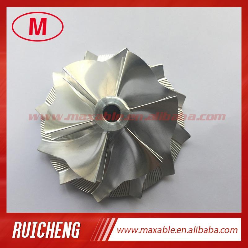 TD05H 20G 49179-43400 52.56 / 68,01 mm 6 + 6 лезвий обращают заготовку turbo высокой эффективности / филируя / алюминиевое колесо компрессора 2618