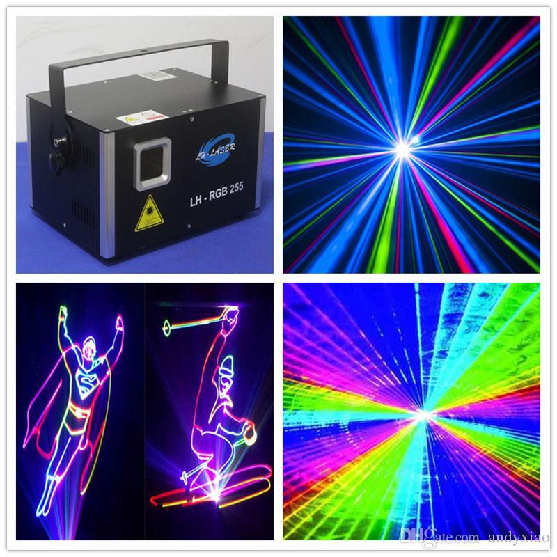 3W RGB 45KPPS 스캐너 아날로그 레이저 조명 스캐닝 Galvo 콘서트 TV 쇼 라이트