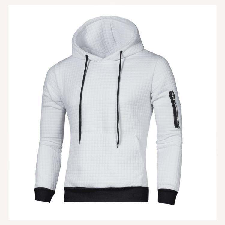Mwxsd hommes pull-over solide sweatshirtsand sweats hommes hoodies slim fit la mode survêtements