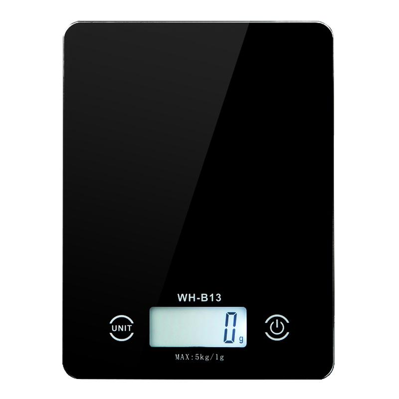 Impermeáveis Escalas da cozinha 5kg Escala da dieta alimentar 1g Balança Eletrônica Peso Digital Postal para o cozimento utensílios de cozinha cozinha Y200328