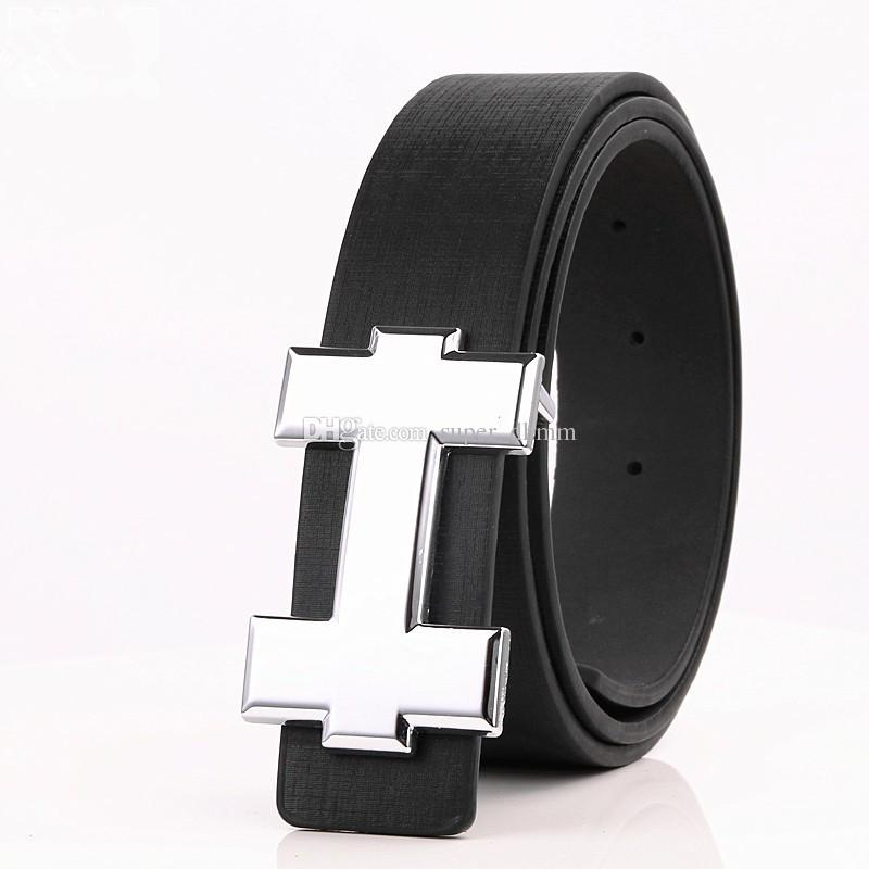 2019 Nuevo Diseñador de la Marca H Cinturones de Los Hombres de Alta Calidad Cinturones Para Hombre de Lujo de Cuero Genuino Pin Hebilla Cinturón Casual Cintura