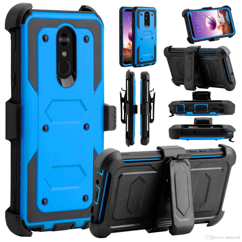 For LG G4 PRO V10 V20 V30/V35 V40 Heavy Duty Shockproof Holster swivel Belt Clip Rotatable Kickstand Defender CASE Cover