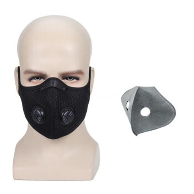 Ef4L1 Inserisci livello Mma3365 Bocca PM2.5 cotone Viso 5 protettivo sostituibile Mat s Mask Pa # QA755
