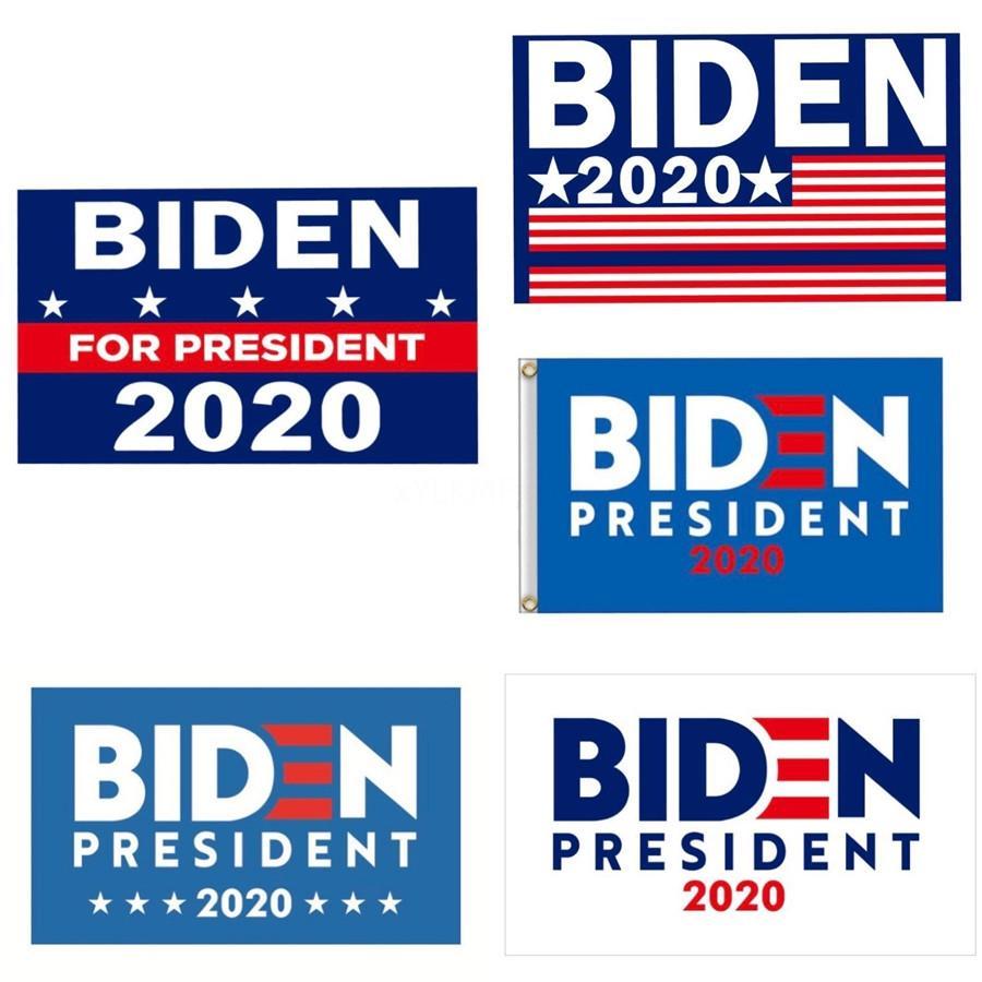 2020 Detidos Donald Biden bandeira americana Mantenha América grande bandeira Mulheres Para Biden Mão Flags Bandeira Wx9-1837 # 585