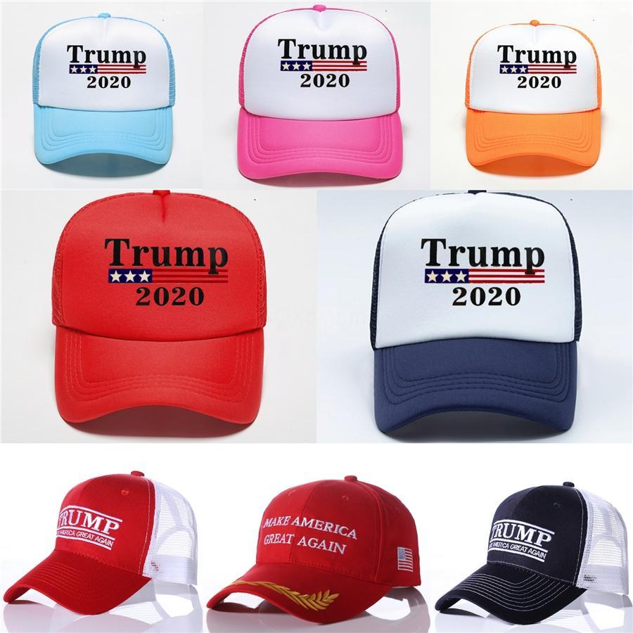 5 Estilos Casquillos de bolas ajustable para los hombres Las mujeres somos gorra de béisbol Elección 2020 Trump mantener a Estados Unidos Grandes otoño del resorte de deporte al aire libre Sombreros # 738
