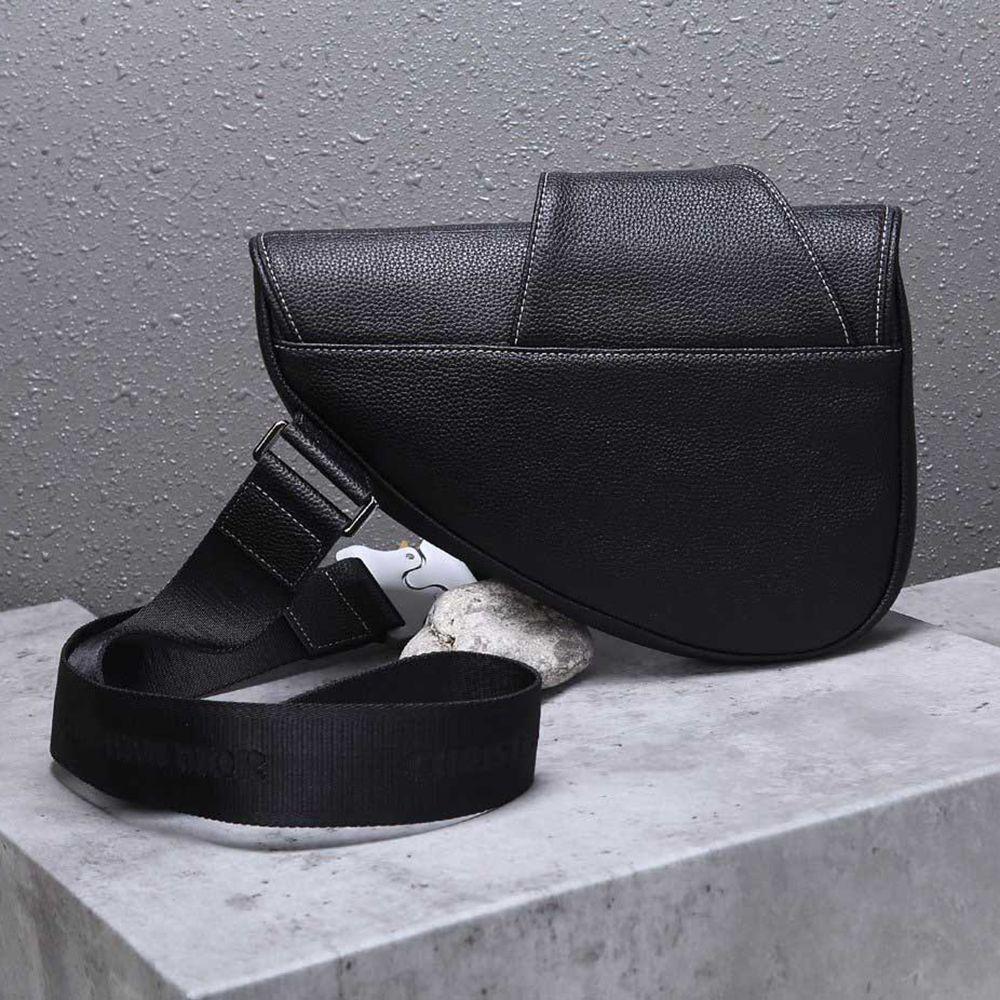 TS الصلبة العلامة التجارية اللون CROSSBODY السرج حقيبة رجل إمرأة فاخر مصمم حقيبة اليد رسول حقيبة أفضل نوعية فاخر مصمم حقائب سوداء