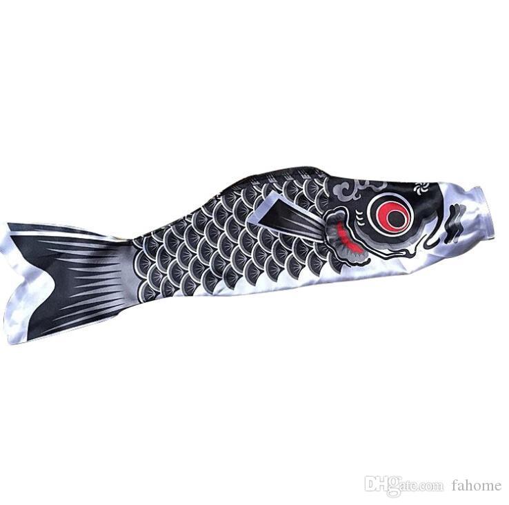 36-inch اليابانية كوي الأسماك windsock- الحرير الاصطناعي البوليستر koinobori الكارب windsocks الجدار نسيج الستائر في فناء ديكور