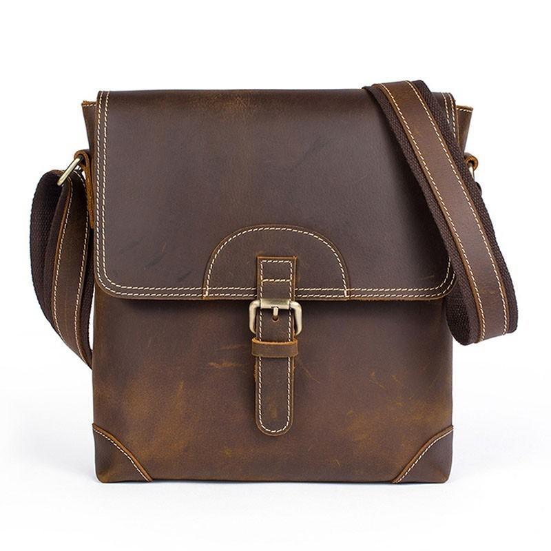 Качество натуральная кожа портфель Мужчины Satchel Мужской Сумка кожаная сумка для ноутбука Бизнес Портфель Crossbody Сумки для мужчин