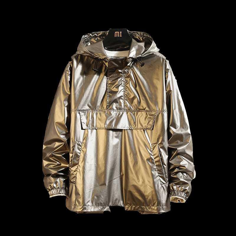 Giacca Uomo Primavera Streetwear Bomber Jacket Mens Hip Hop moda giacche con cappuccio cappotti Maschio allentati Giacche vestiti più il formato 5XL