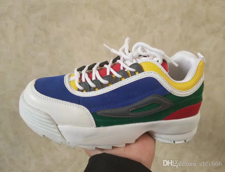 2019 fs رجل عداء حذاء رياضة فام جديد خطوة واحدة أبيض أسود أزياء الرجال الرياضة مصمم إمرأة حذاء حذاء رياضة زوجين