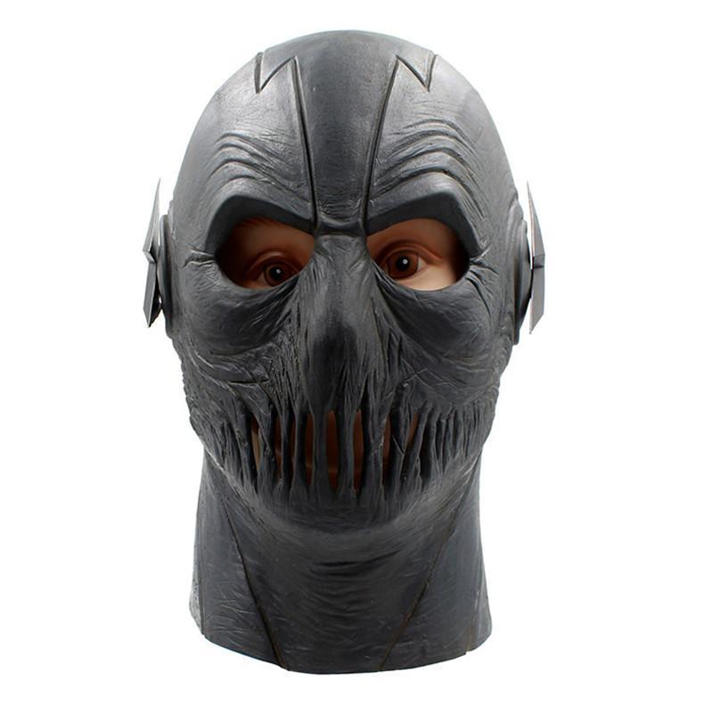 Cosplay Zoom Maske Marvel Flash-Latex Kopf voller Breath Halloween-Partei Cosplay-Kostüm-Stütze Weihnachten Maske