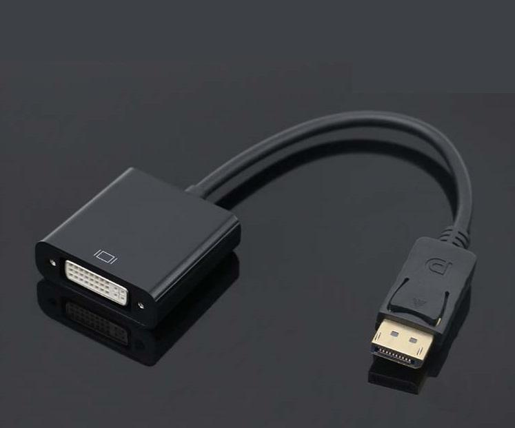 DisplayPort إلى محول عرض ميناء إلى كابل محول محول 1080P لعرض مراقب العارض