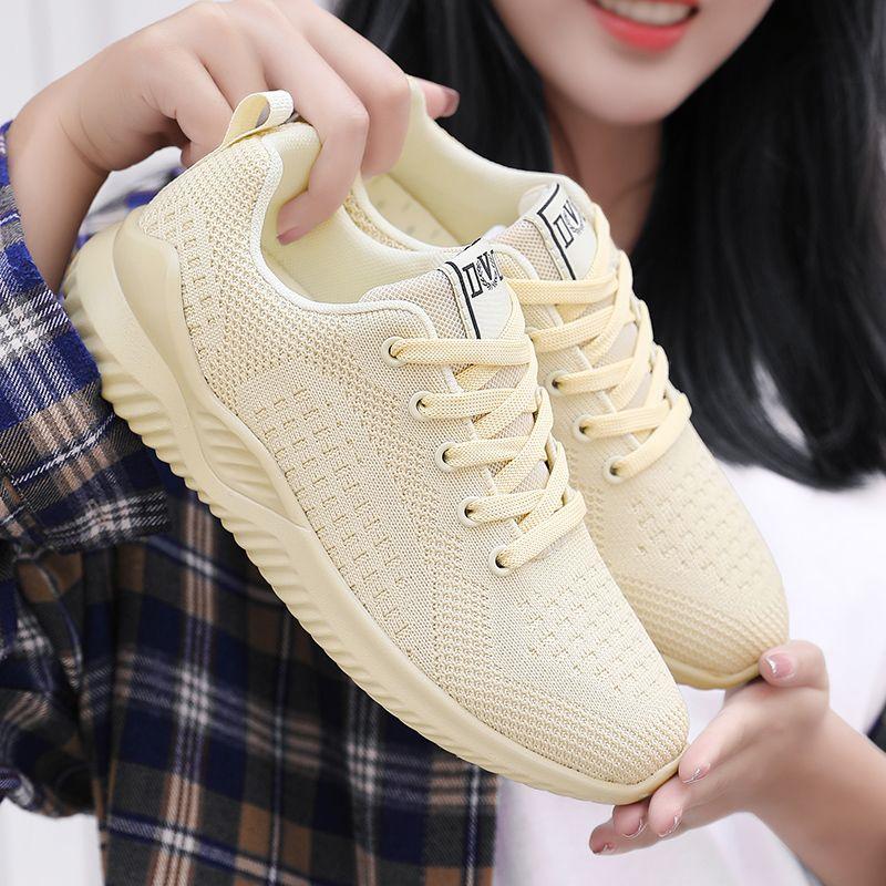 top 2020 novos ins Viagem sapatos mulheres Flywire sneakers inferiores estudante sapatos único para Female zapatillas deportivas mujer
