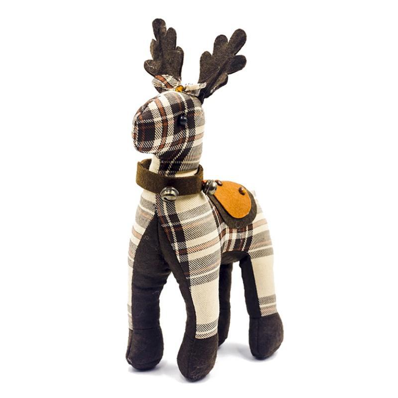 2019 navidad noël poupée renne figurine ornements de vacances jouet cadeau décorations de Noël ornements
