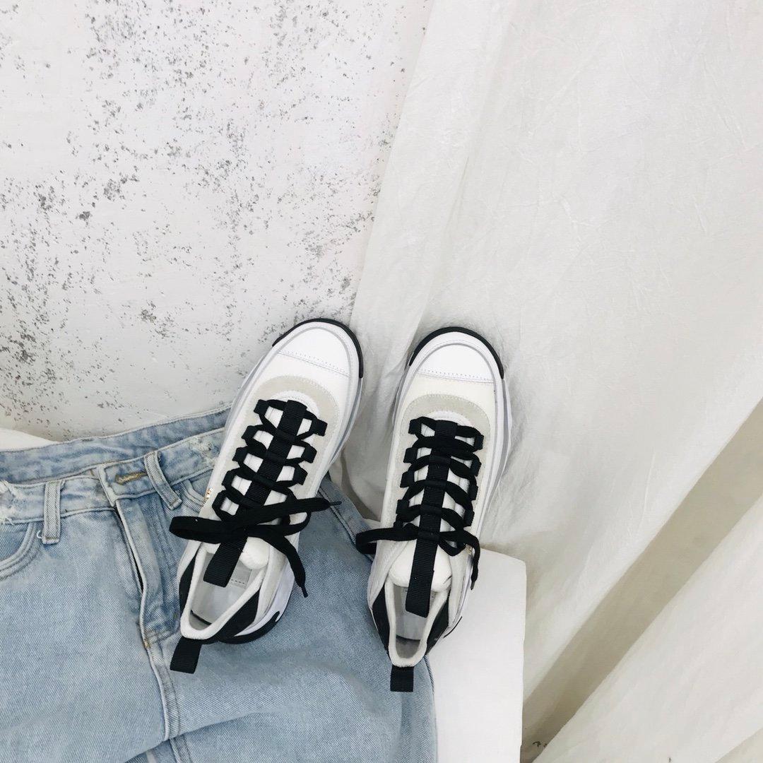 Klassische Sneaker Damenmode Leder atmungsaktiv Sportschuhe bequemen beiläufigen Sportschuh 033005
