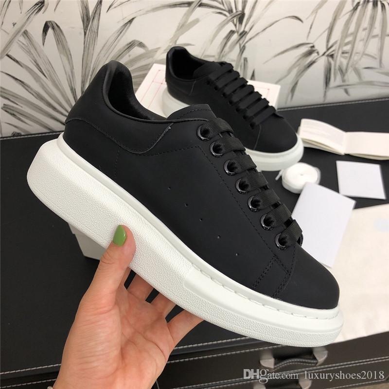 Hommes Femmes de luxe de Sneaker Chaussures Casual plateforme Baskets Chaussures en cuir suédé robe de loisirs marche quotidienne Sneakers chaussures