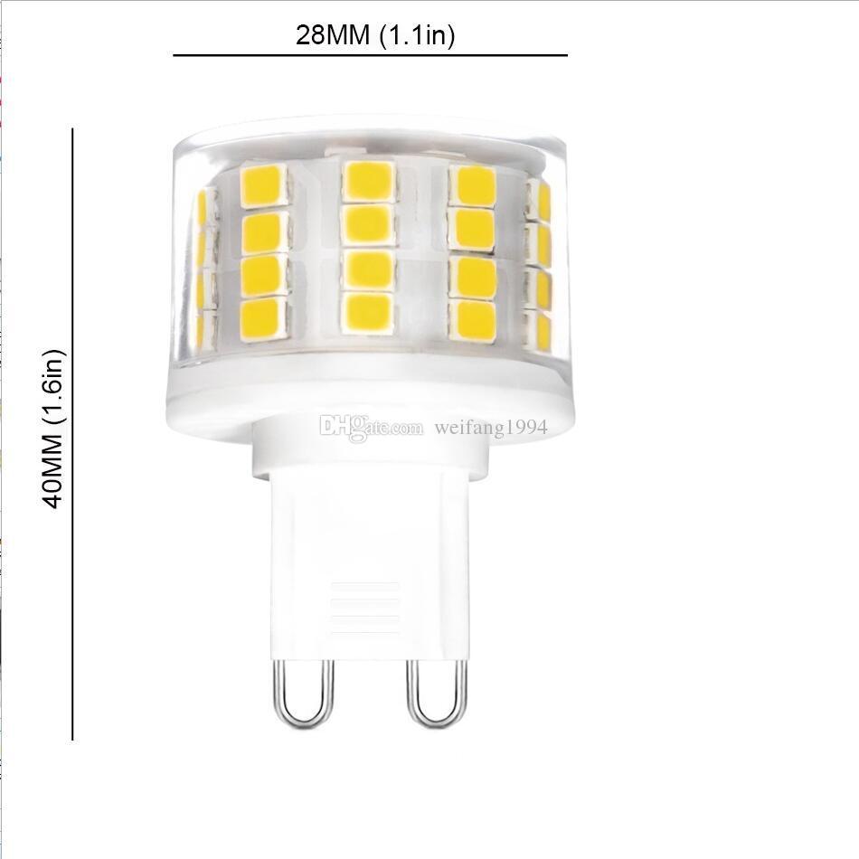 Ampoules Ac220 50w Smd Led 240v11 500lm De Acheter À 35 Économie D'énergie G9 2835 Rechange Du D'halogène Équivalent 52led Jl1cTFK