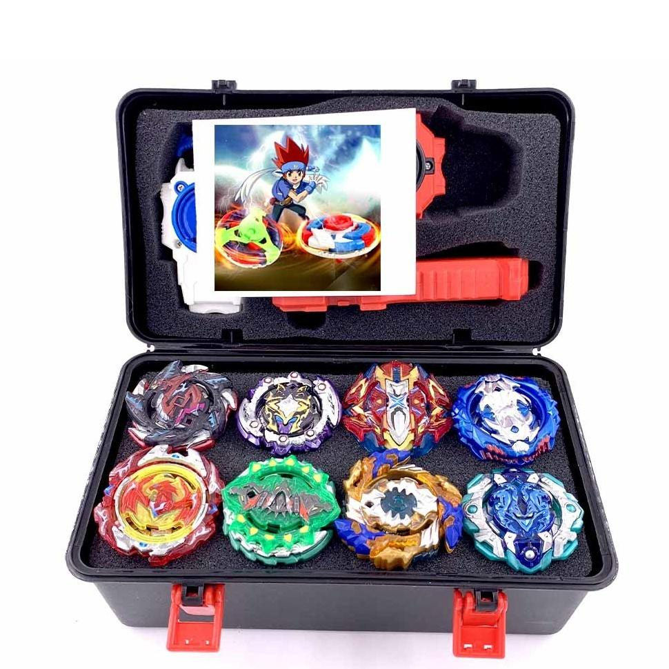Full Launchers Beyblade GT Toys Arena Kids Boys Gift Toupie Bayblade Metal Burst God Spinning Top Bey Blade Blades Y200428