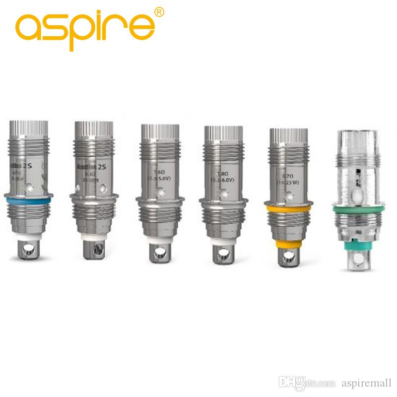 Commercio all'ingrosso Aspire Nautilus Bobina 1.6ohm 1.8ohm 0.4ohm 0.7ohm Maglia Nautilus BVC Bobine sostitutive per Aspire Nautilus Mini / 2s / GT